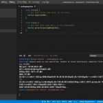 Arduino for Visual Studio Code出力の文字化け対策
