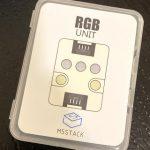 M5Stack RGB LEDユニット & LEDバー