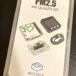 M5Stack PM2.5 エアクォリティーセット