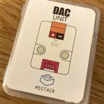 M5Stack用DACユニット